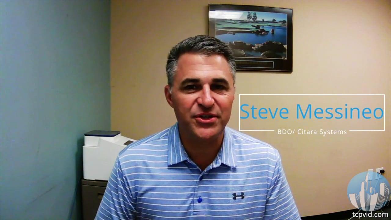 Testimonial from Steve Messineo