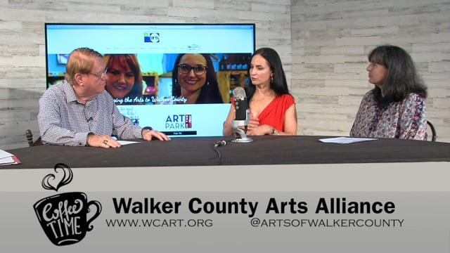Coffee Time Interview - Walker County Arts Alliance