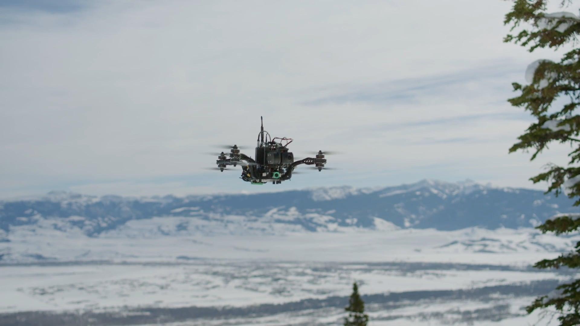 Live Racing Drones