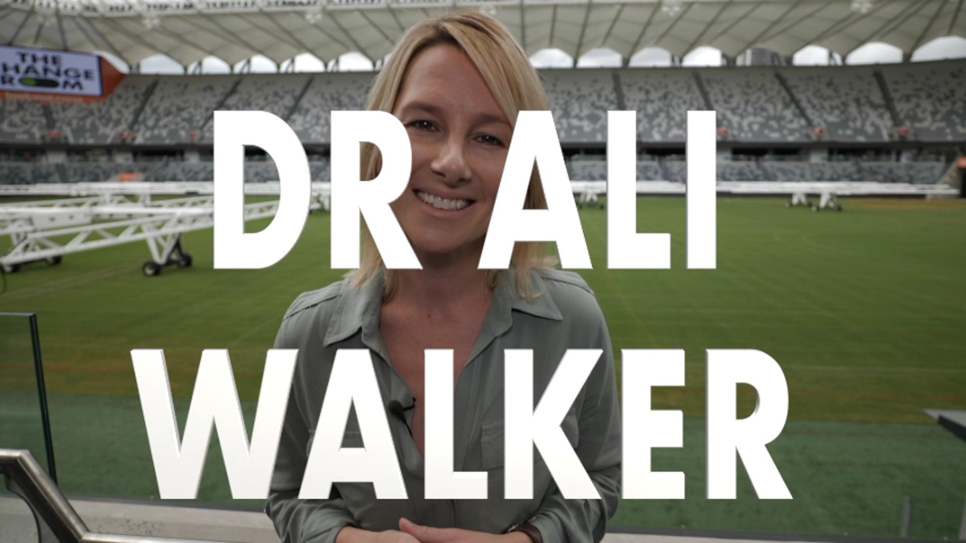 Dr Ali Walker - Meet The Mentor