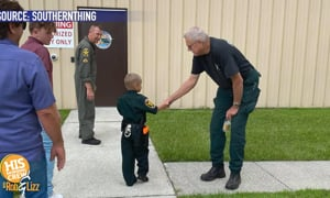 6 Year old Deputy for a day!