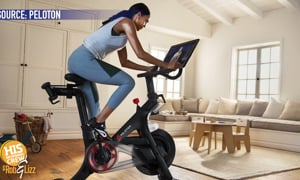 Peloton went above and beyond with this new video game!