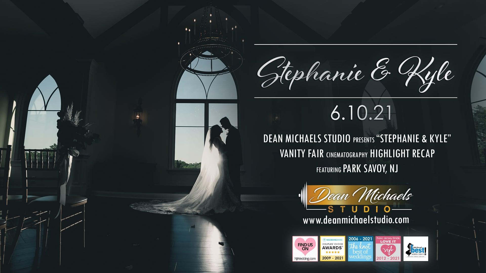 Stephanie & Kyle's Wedding Highlight Recap at The Park Savoy, NJ