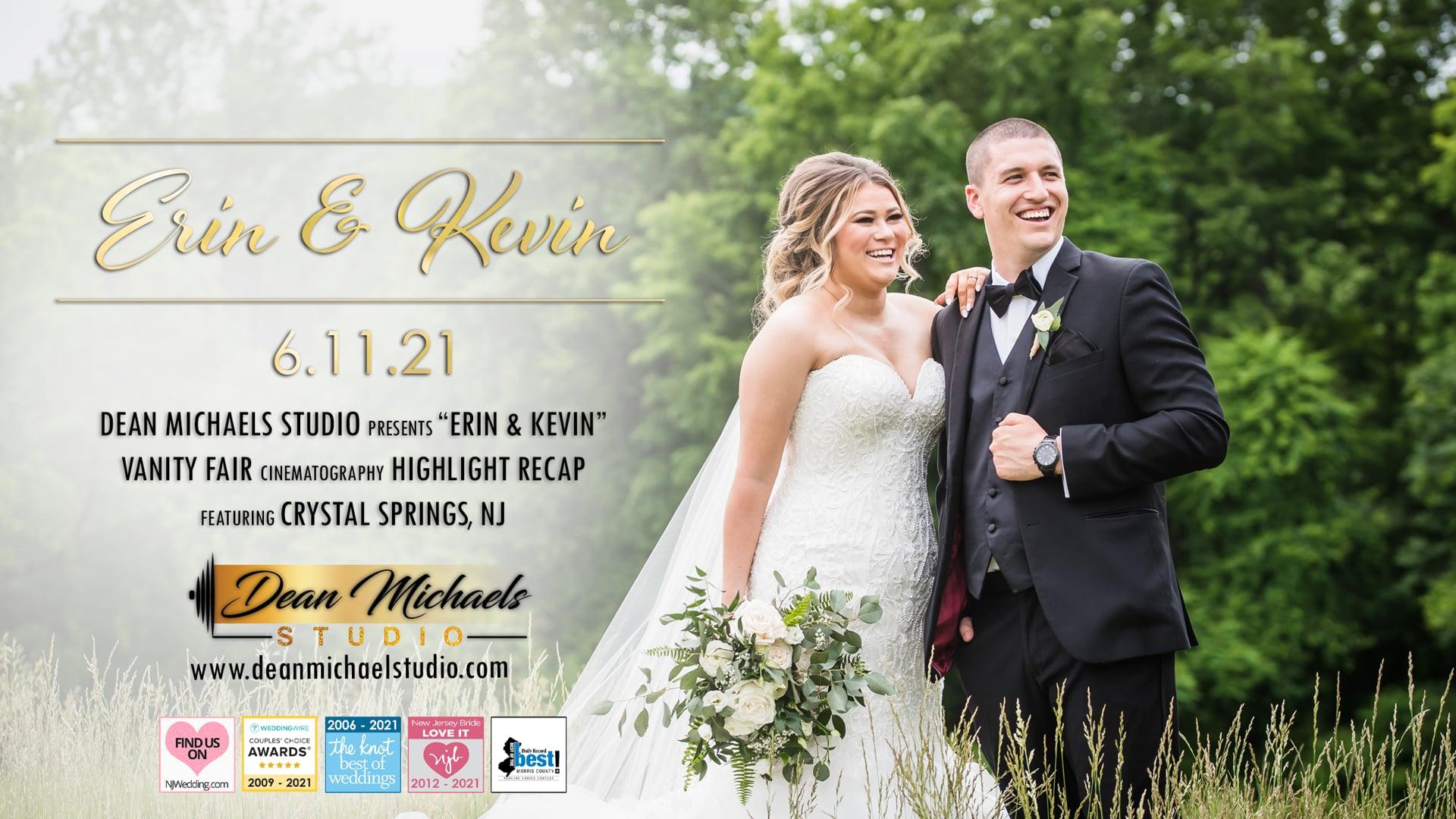 Erin & Kevin's Wedding Highlight at Crystal Springs, NJ