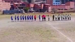 Clamoroso in Bolivia: un tornado spazza via i giocatori prima di una partita