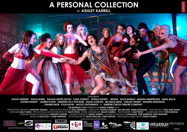 A Personal Collection - The Art Music Video by Ashley Karrell