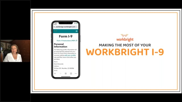 Making the Most of the WorkBright I-9 – July 2021