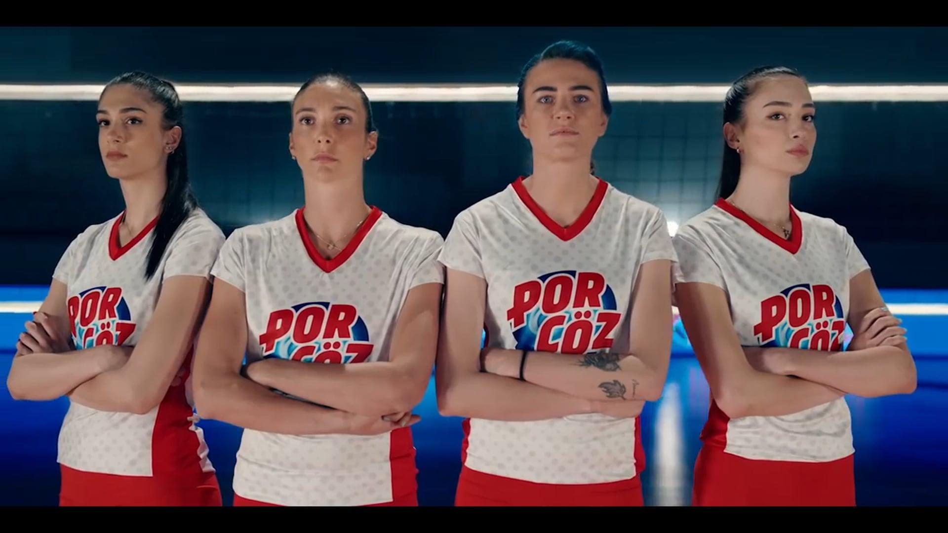 Porçöz - Kadın Voleybol Milli Takımı Ana Sponsörü