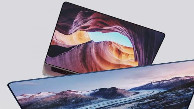 Apple macbook pro - concept visuals