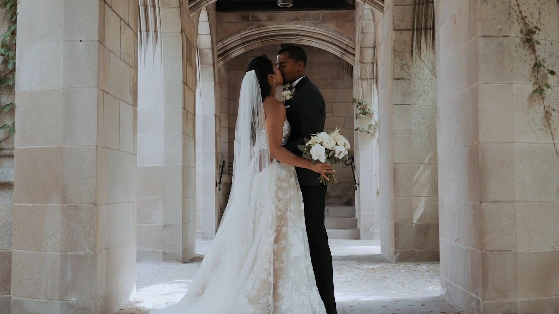 Reina + Donovan   Wedding Day Highlights   5-21-2021   Greenhouse Loft, Chicago, IL