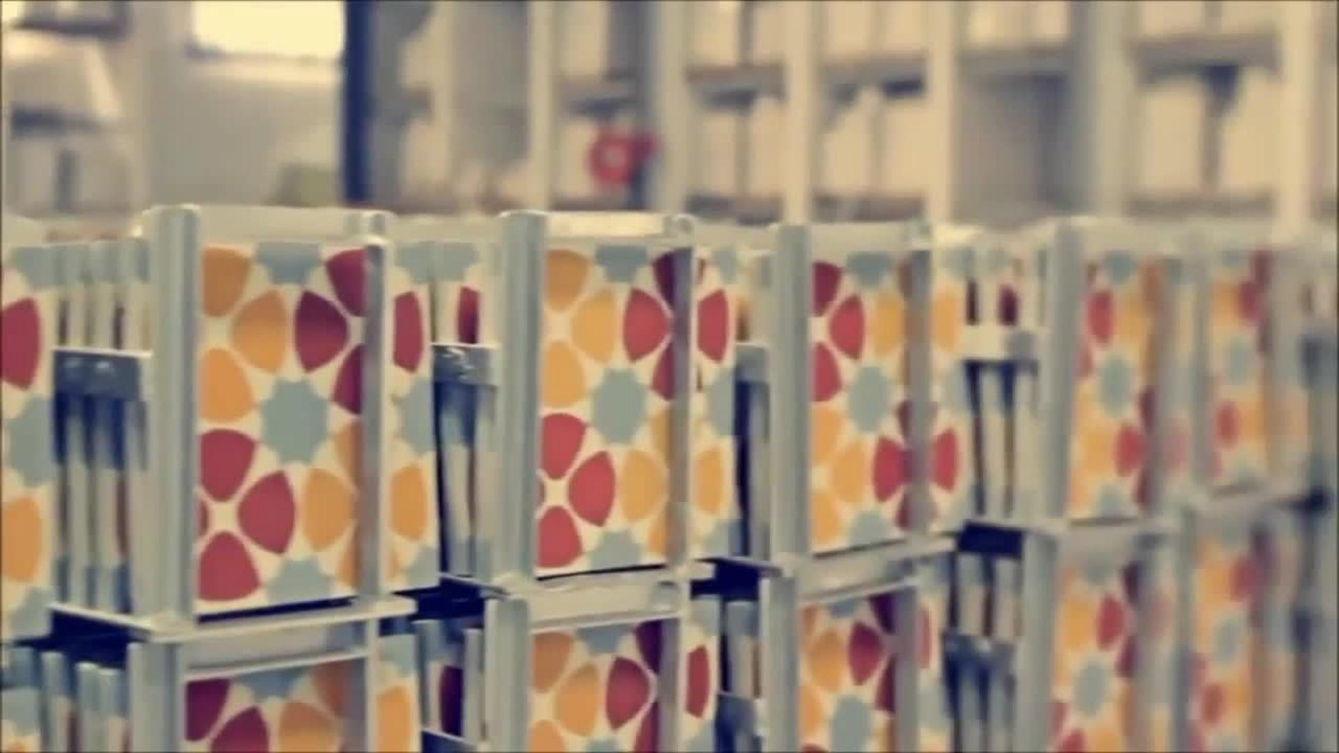 """8""""x8"""" Ahfir Handmade Cement Tile, Gray/White, Set of 12"""
