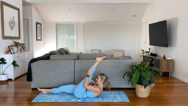 45min full body workout – hamstring focus