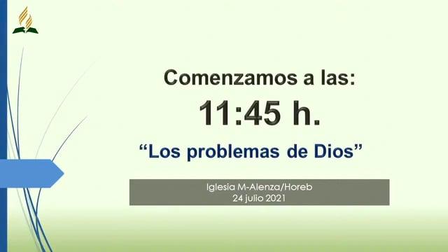 Los problemas de Dios