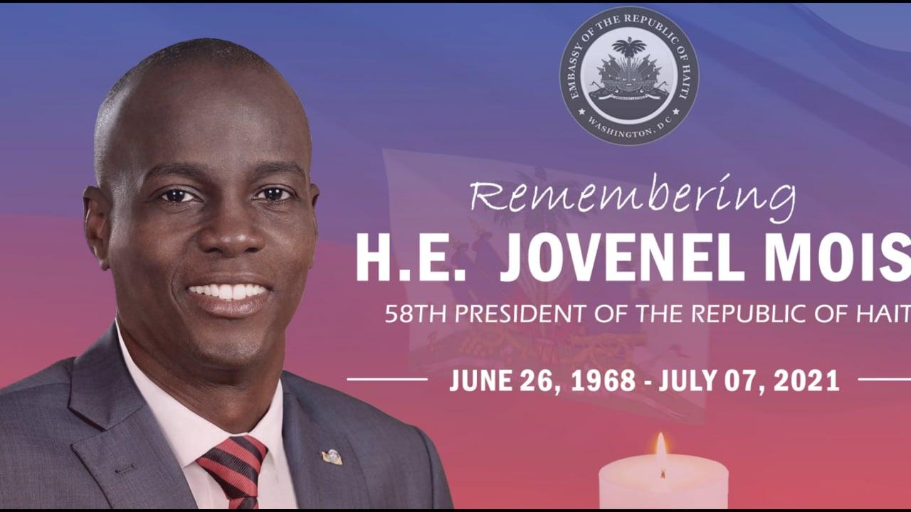 H.E. Jovenel Moise Farewell