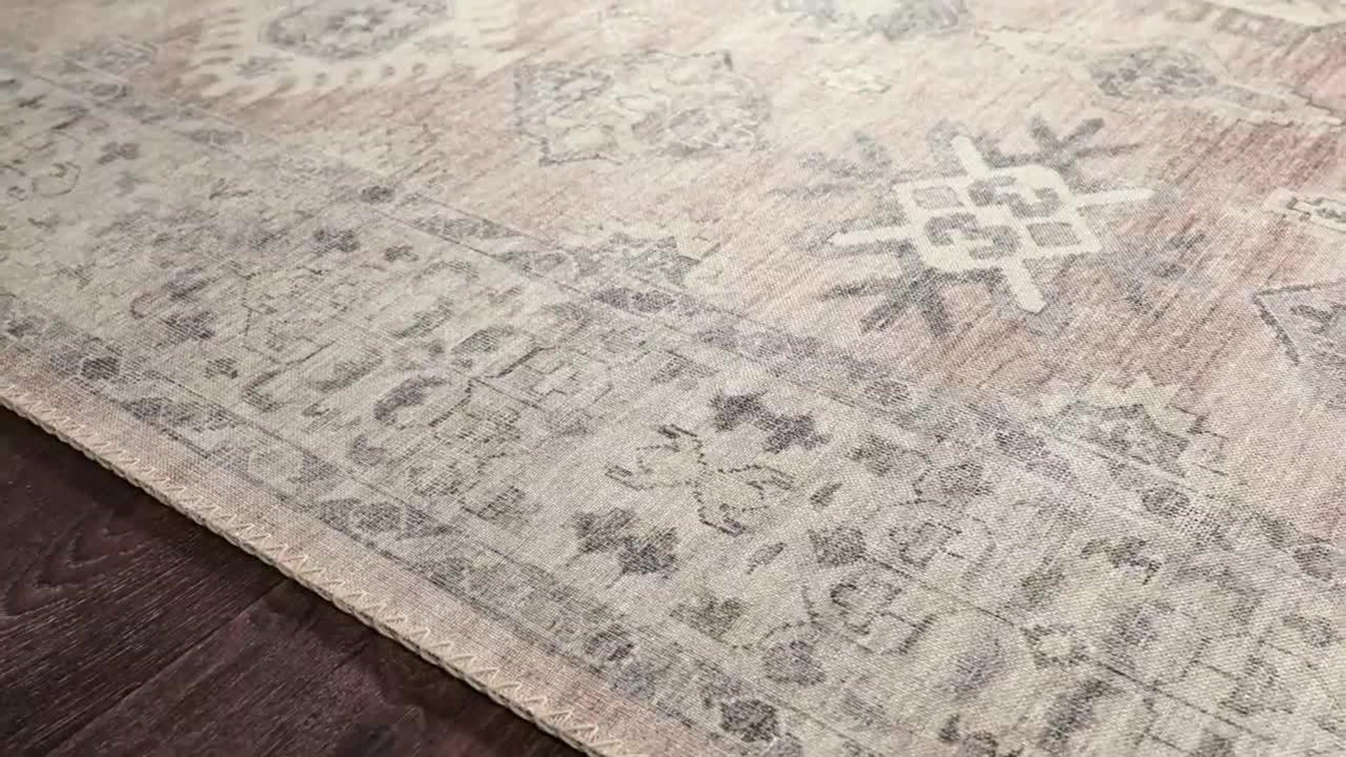 """Loloi II Hathaway Printed Java / Multi Area Rug, 3'-6"""" X 5'-6"""""""