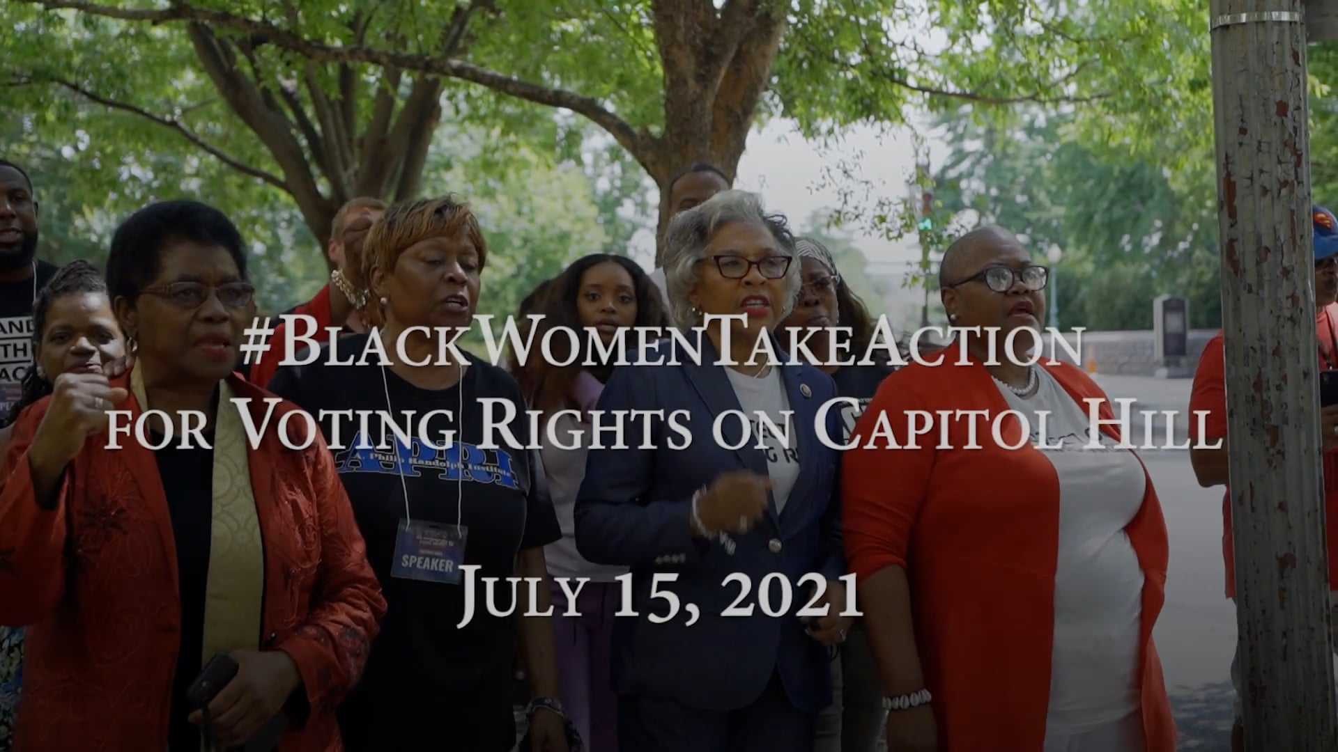#BlackWomenTakeAction for Voting Rights on Capitol Hill