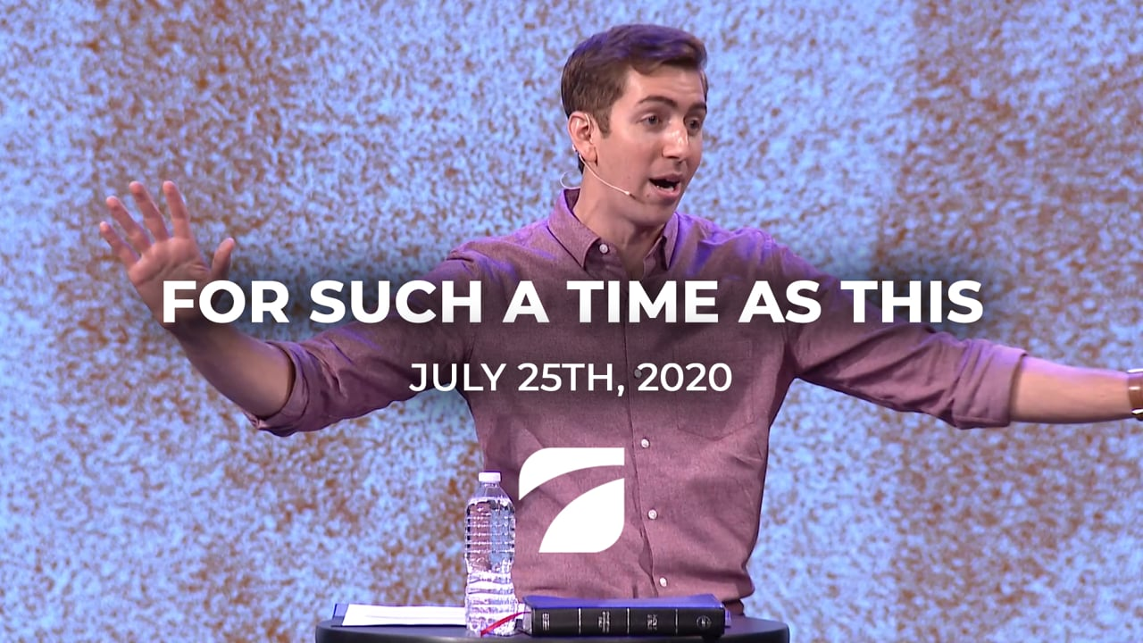 For Such a Time as This - John Antonucci (July 25th, 2021)