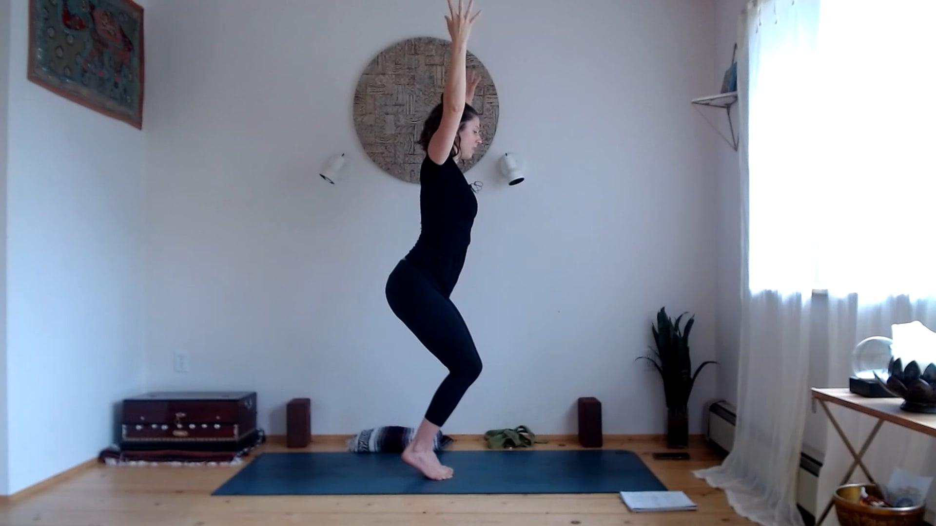 "30 min ""The Niyamas (Second Limb of Yoga)"" Flow (Full Body)"