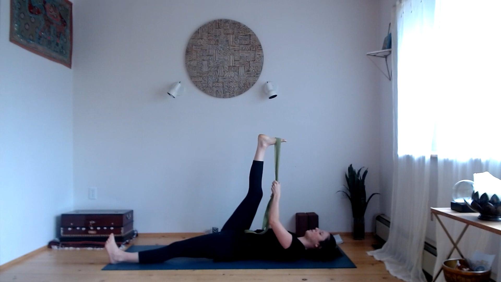 "30 min ""The Yamas (First Limb of Yoga)"" Flow (Full Body)"