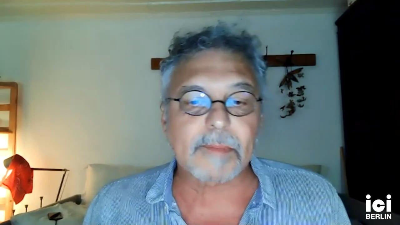 Talk by Stathis Gourgouris