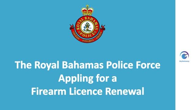 Applying for Firearm Licence Renewal
