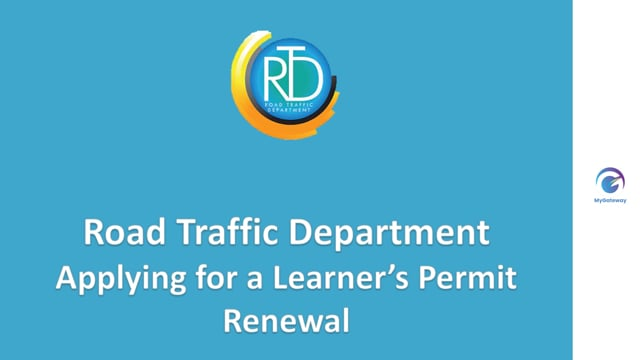 Applying for Learner's Permit Renewal