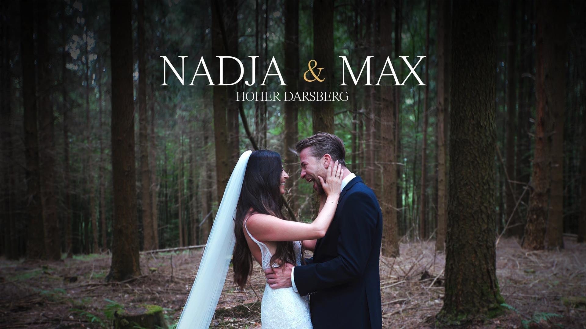 Nadja & Max - extrem emotionaler First Look   Hoher Darsberg, Neckarsteinach   Hochzeitsvideo Heidelberg [4K w.eng sub.]