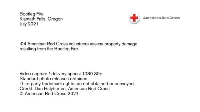 Disaster B-roll - Bootleg Fire - Klamath Falls, Oregon