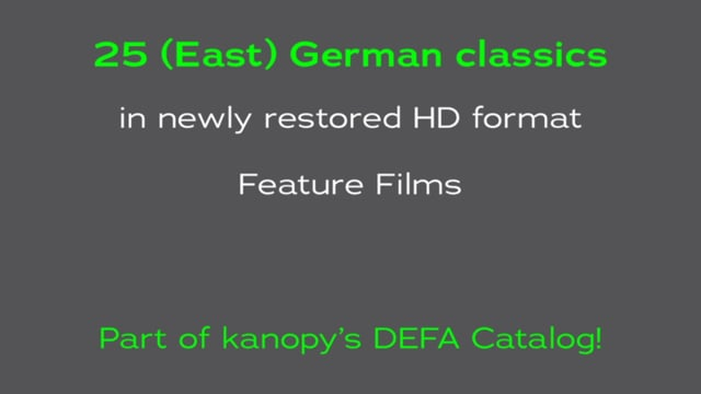 DEFA Essential Collection on Kanopy