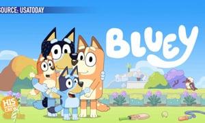 G'day, Bluey!