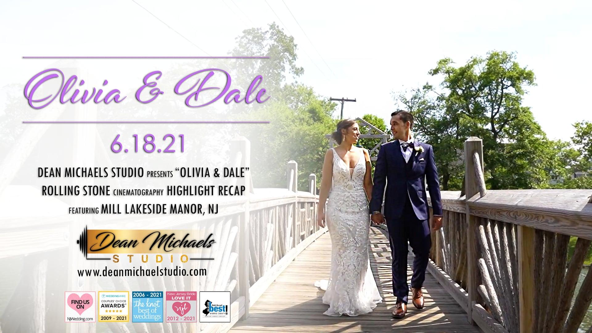 Olivia & Dale's Wedding Highlight Recap at The Mill Lakeside Manor, NJ
