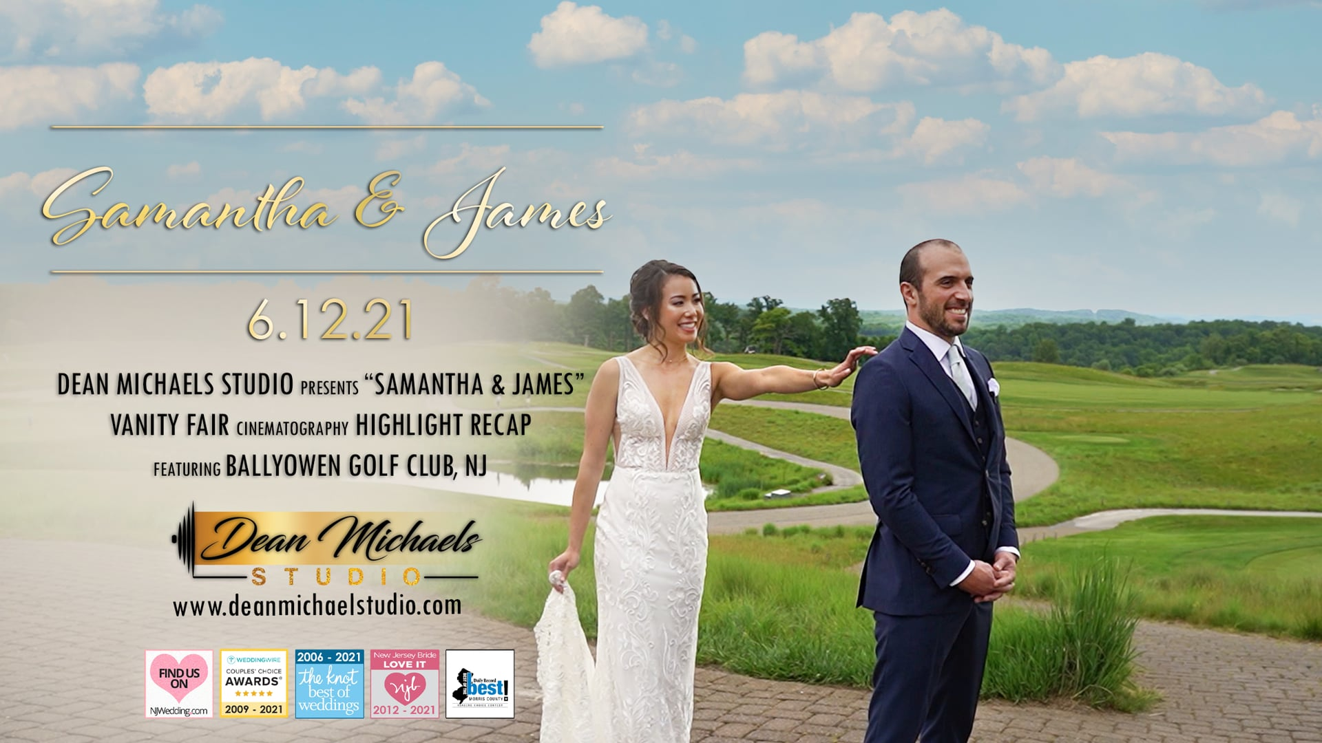 Samantha & James's Wedding Highlight Recap at Ballyowen Golf Club, NJ