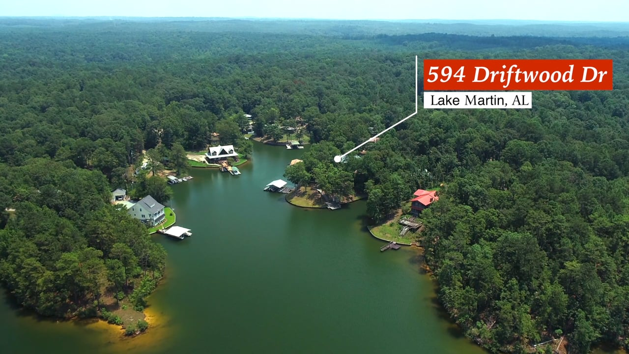 594 Driftwood Dr   Lake Martin AL (U)