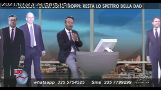 Intervento del Direttore dr.Daniele Nappo a Telenova sul tema della ripartenza della scuola.mp4
