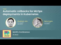 Automatic rollbacks for MLOps deployments in Kubernetes