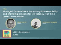 Managed Feature Store: Improving data reusability & Providing a means for low latency real-time prediction at Udaan