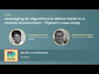Leveraging ML algorithms to deliver faster in a chaotic environment - Flipkart's case study