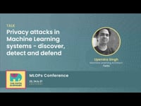 Privacy attacks in Machine Learning systems - discover, detect and defend