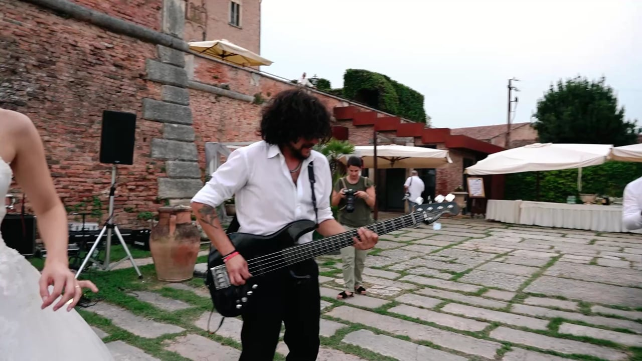 Wedding Band Alterego from Cremona to Legnago