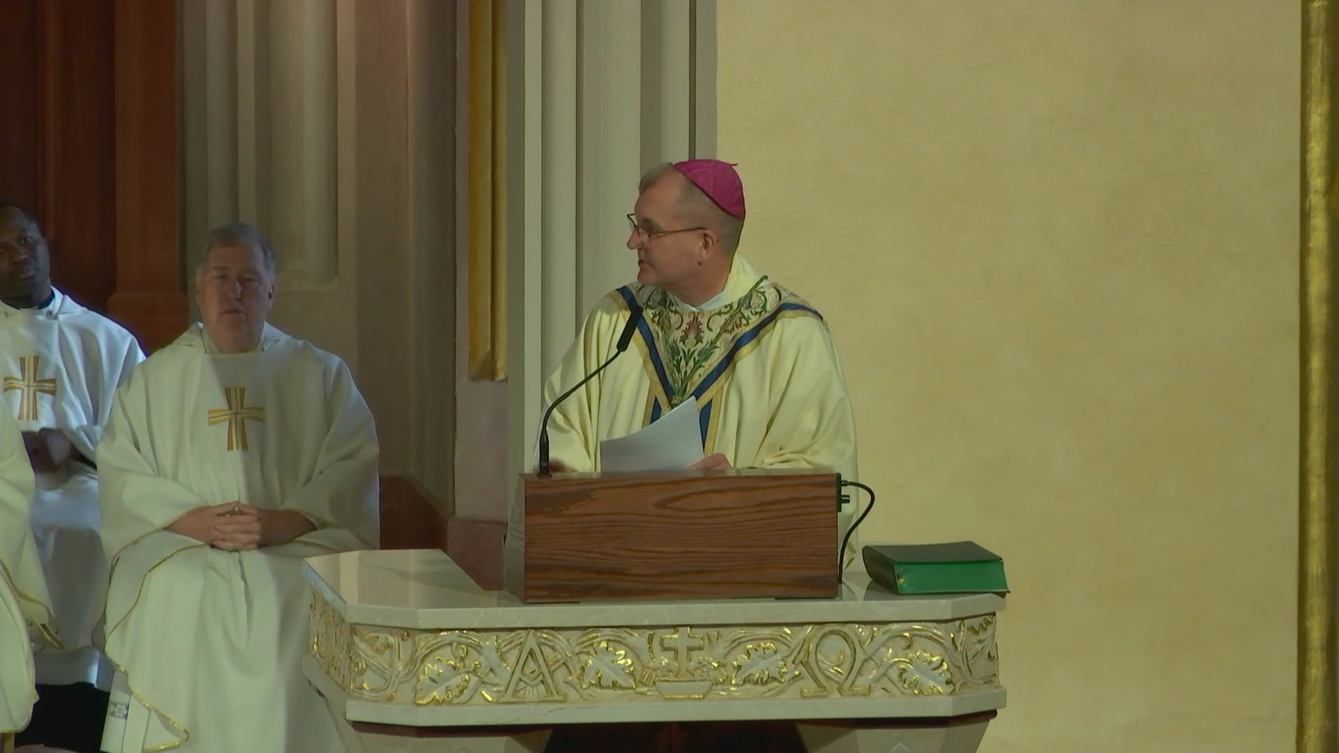 Bishop Barres' Closing Remarks on the Memorial of St. Ignatius of Loyola
