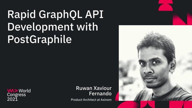 Rapid GraphQL API Development with PostGraphile
