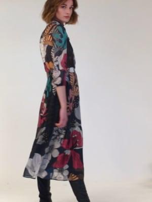 Vídeo: BRIELLE DRESS LUCERA PRINT