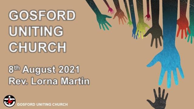 8th August 2021 - Rev. Lorna Martin