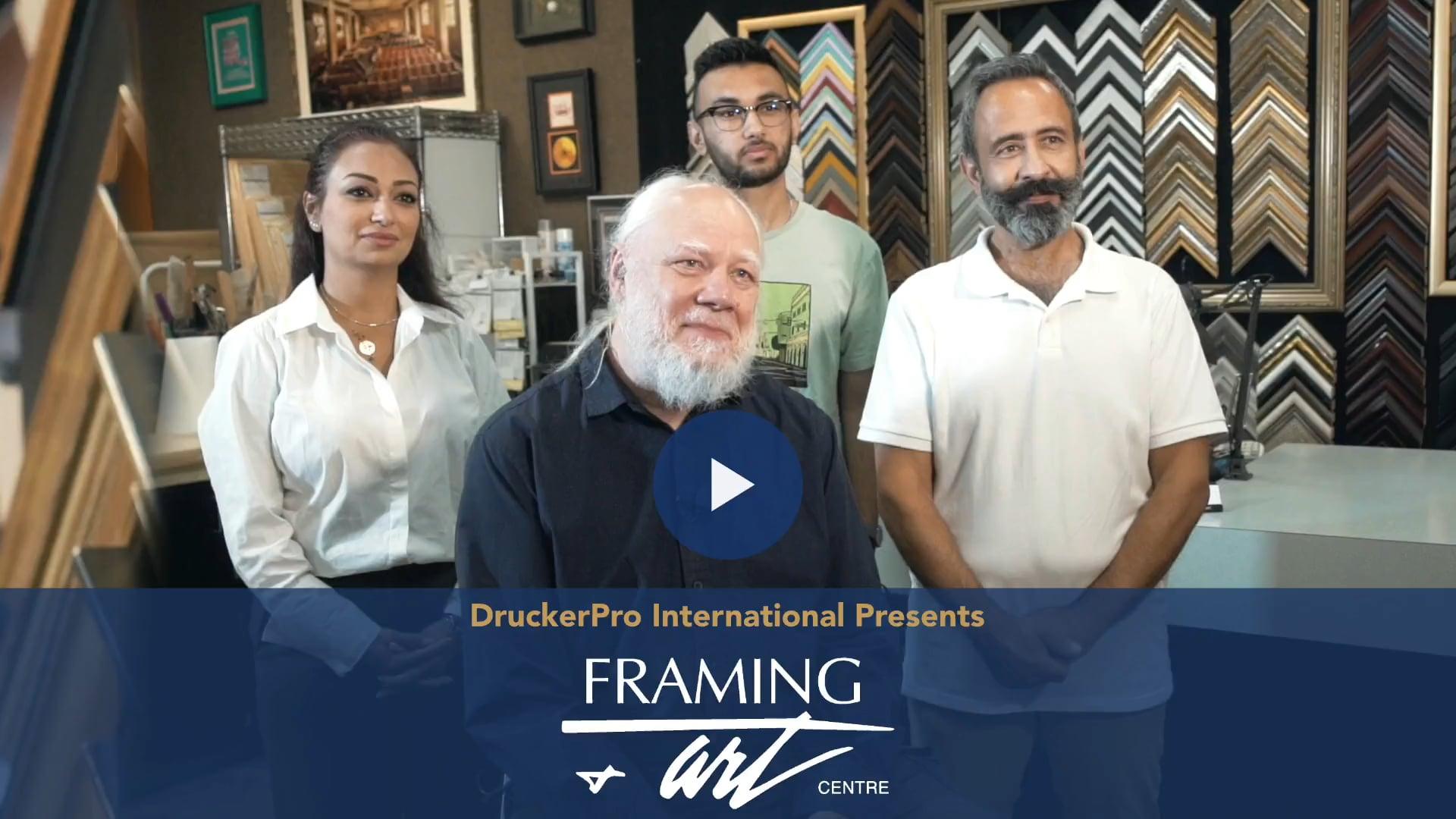 Framing & Arts Centre Story