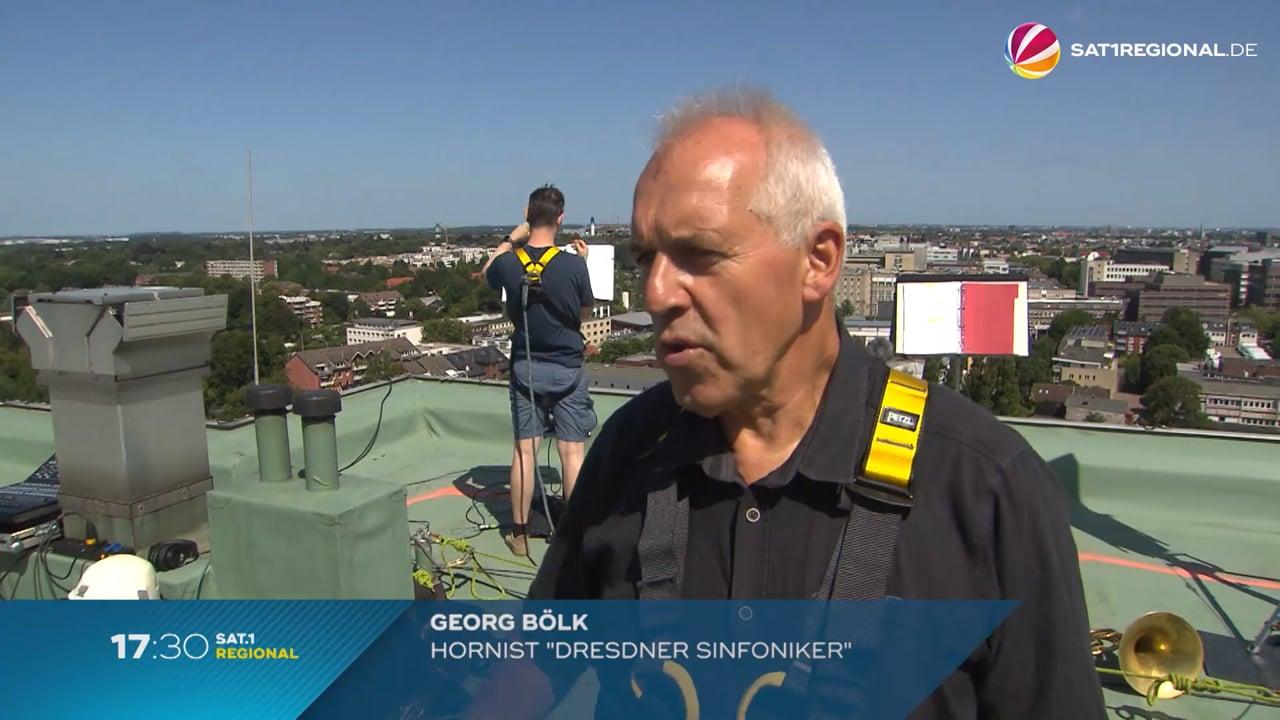 Himmel über Hamburg: Sat1 Bericht vom 17. Juli 2021