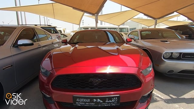 FORD MUSTANG - RED - 2015