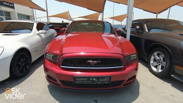FORD MUSTANG - RED - 2014