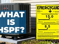 What Is a HSPF Rating? Buying a New Heat Pump