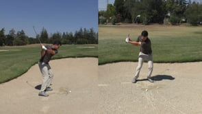 Assessing Low Point In a Fairway Bunker