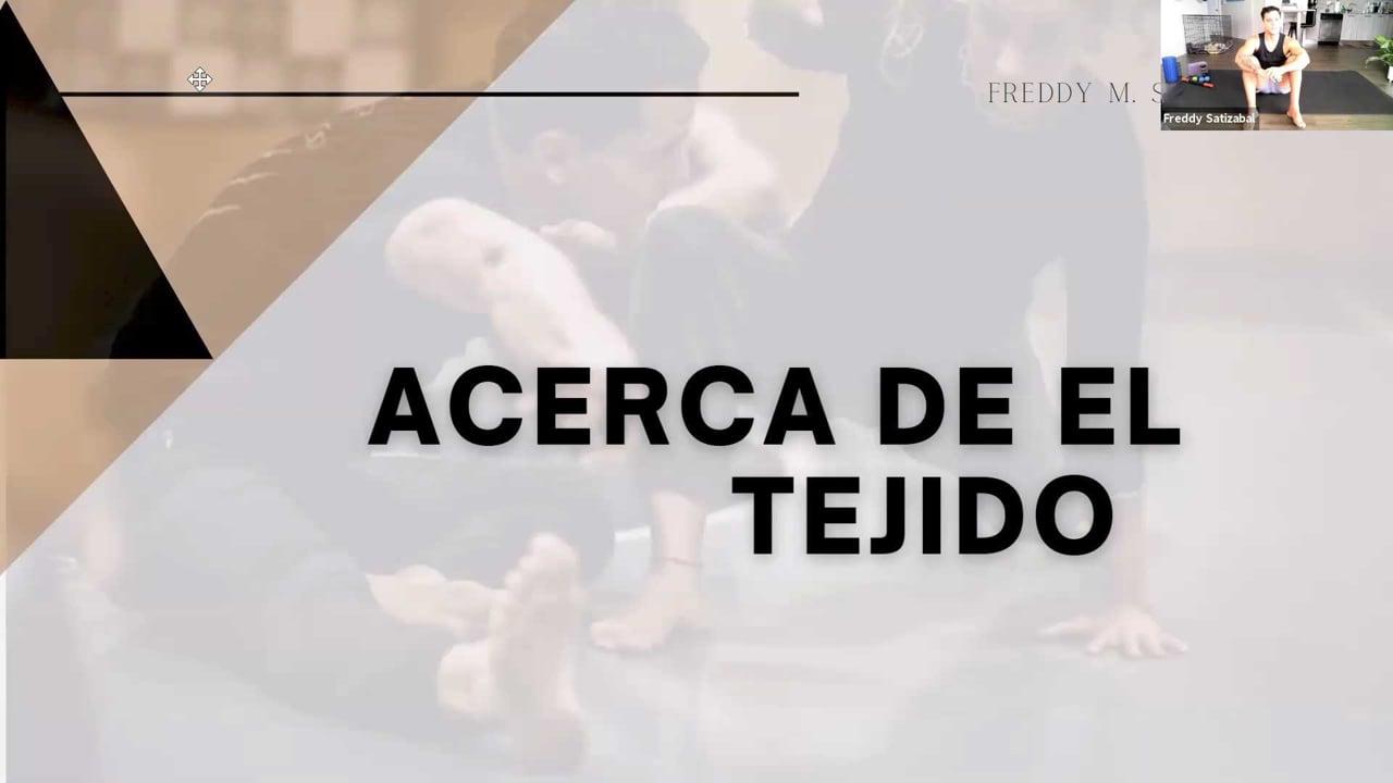 Freddy Satizabal: Acera de el Tejido